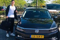 Sang Hà Lan thi đấu, Đoàn Văn Hậu hết nhận lương khủng lại được cấp ôtô riêng xịn xò