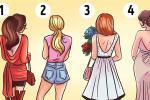 Theo bạn, cô gái nào quay lại sẽ hấp dẫn hơn cả, cách bạn chọn quyết định tính cách của bạn?