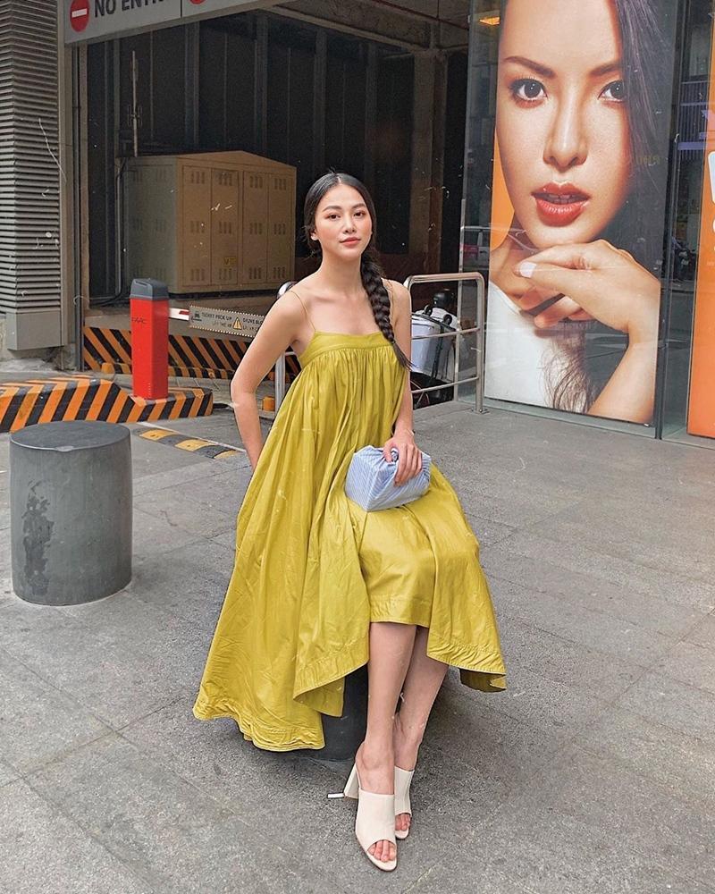 Kỳ Duyên khoe thời trang sân bay sương sương nửa tỷ - Văn Mai Hương bị chê già như thím vì set đồ hoa-6