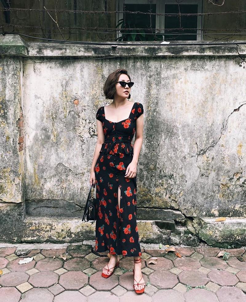 Kỳ Duyên khoe thời trang sân bay sương sương nửa tỷ - Văn Mai Hương bị chê già như thím vì set đồ hoa-8