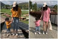 Học cách mix đồ đôi với nhóc tỳ để có những shoot hình du lịch sống ảo nghìn like