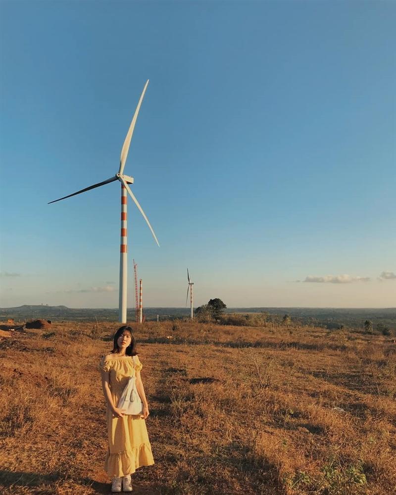 Cánh đồng quạt gió tựa trời Tây ở Đắk Lắk hút giới trẻ check-in-1
