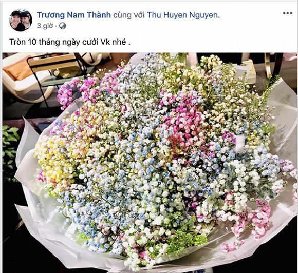 Sau 10 tháng kết hôn, Trương Nam Thành vẫn làm điều giản dị nhưng ý nghĩa này dành cho vợ doanh nhân-2