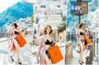 Đẳng cấp khoe thân kiểu mới của Ngọc Trinh: Mặc nội y đi shopping tiền tỷ giữa phố Tây