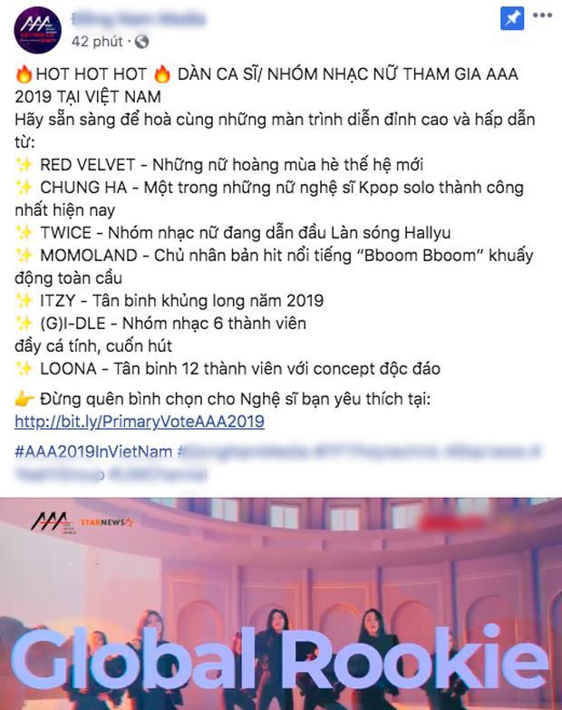 VZN News: HOT: TWICE, Red Velvet, Momoland... xác nhận tham gia AAA 2019, fan Kpop thất vọng vì có tất cả nhưng thiếu Blackpink-1