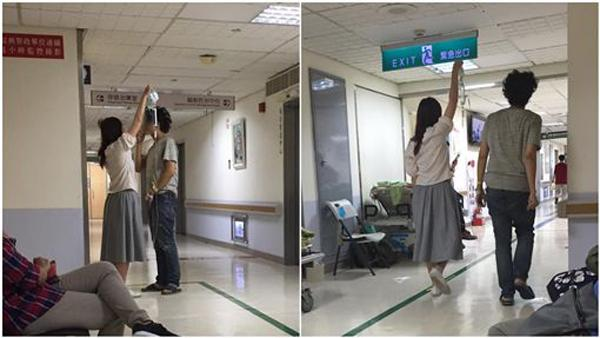 VZN News: Cô gái làm giá đỡ truyền dịch di động cho bạn trai, dân mạng tấm tắc khen xứng đáng yêu cả đời-1