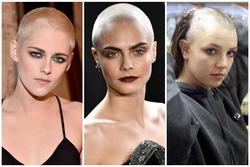 Khi các mỹ nhân Hollywood cắt phăng mái tóc dài chuyển qua mốt đầu trọc