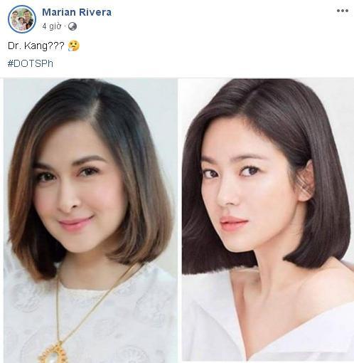 Mỹ nhân đẹp nhất Philippines vào vai của Song Hye Kyo trong Hậu duệ mặt trời?-1