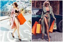 Dân mạng bóc phốt Ngọc Trinh 'ăn cắp' ý tưởng mặc nội y shopping trên phố hóa ra 'mẫu nhà người ta'