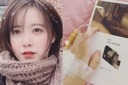 'Nàng cỏ' Goo Hye Sun vẫn phải nằm viện điều trị sau khi phẫu thuật khối u