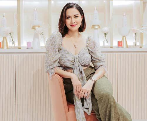 Đi dự khai trương thôi mà mỹ nhân đẹp nhất Philippines vẫn gây sốt vì quá xinh-1