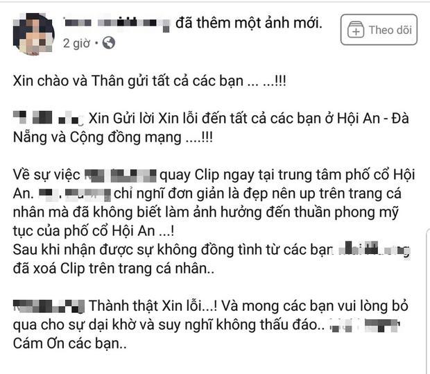 Cô gái bán khỏa thân quay clip phản cảm và chủ quán cà phê ở phố cổ Hội An lên tiếng xin lỗi-1