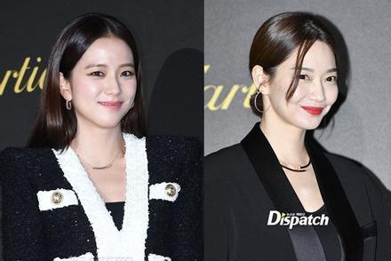 BLACKPINK Jisoo đẹp quyến rũ sau tin đồn hẹn hò, đọ sắc bên 'hồ ly' Shin Min Ah