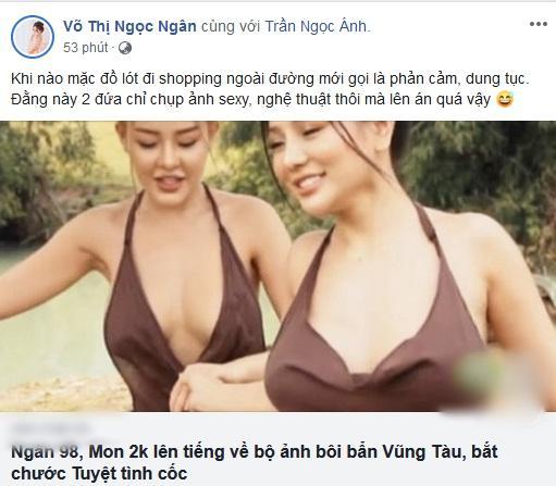Quay clip 18+, Ngân 98 chửi đổng nữ hoàng nội y ai ngờ bị dân mạng quật: Tuổi gì so sánh với Ngọc Trinh-2
