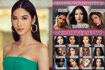 Đặt mục tiêu đăng quang Miss Universe 2019 nhưng Hoàng Thùy lại trượt top 15 nhan sắc tiềm năng