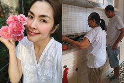 Tăng Thanh Hà được mệnh danh 'cô gái số hưởng' khi cả bố lẫn mẹ đẻ đều nấu ăn 'đỉnh kout'