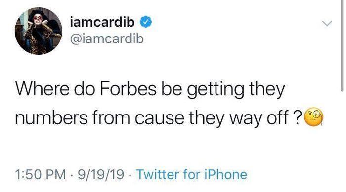 Forbes công bố Nicki Minaj là nữ rapper thu nhập cao nhất 2019, Cardi B lập tức bác bỏ-2