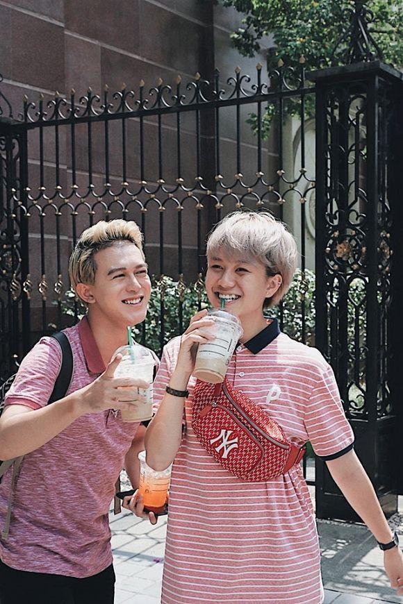 Cặp bạn thân Quang Anh - Bảo Hân chuộng mặc đồ đôi cùng nhau-1