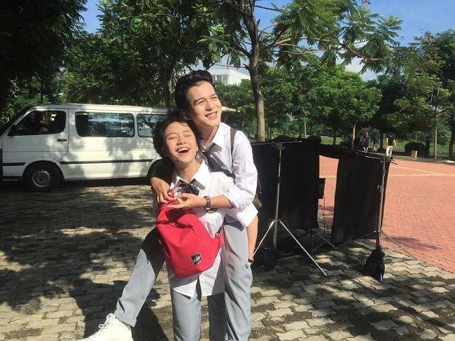 Cặp bạn thân Quang Anh - Bảo Hân chuộng mặc đồ đôi cùng nhau-3