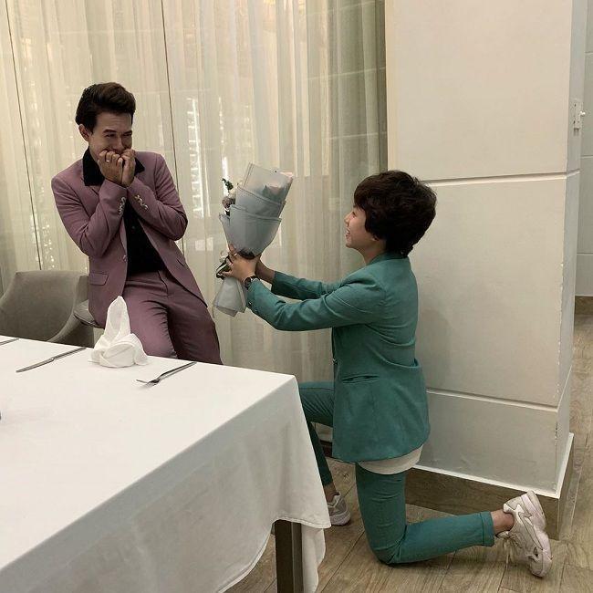 Cặp bạn thân Quang Anh - Bảo Hân chuộng mặc đồ đôi cùng nhau-4