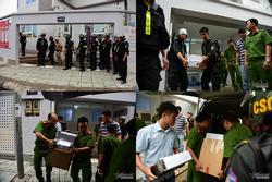 Phong tỏa công ty con của địa ốc Alibaba, đưa đi hàng ô tô tài liệu