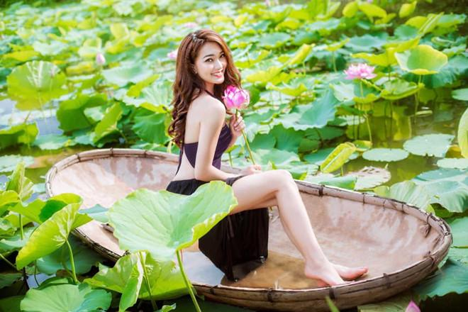 Bạn gái tin đồn Phan Văn Đức thay đổi ra sao sau 2 năm thi hoa hậu?-4