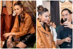 Thanh Hằng không gặp được Tăng Thanh Hà tại sự kiện, ông xã 'ngọc nữ' có ngay chiêu kết nối cực hay