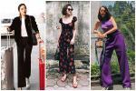 Kỳ Duyên khoe thời trang sân bay 'sương sương' nửa tỷ - Văn Mai Hương bị chê già như thím vì set đồ hoa