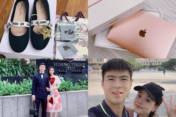 Điểm tên cầu thủ Việt chăm chỉ thể hiện tình cảm với vợ và bạn gái-3