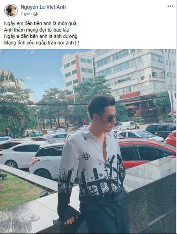 Liên tiếp viết những dòng status về tình yêu, Việt Anh đã tìm được tình mới sau 4 tháng ly hôn vợ?-2