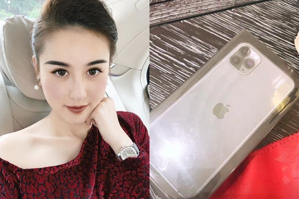Bạn gái cầu thủ, streamer, hotgirl thi nhau khoe đập hộp iPhone 11-5