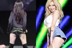HyunA và những lần bị ném đá vì diện đồ phản cảm trên sân khấu