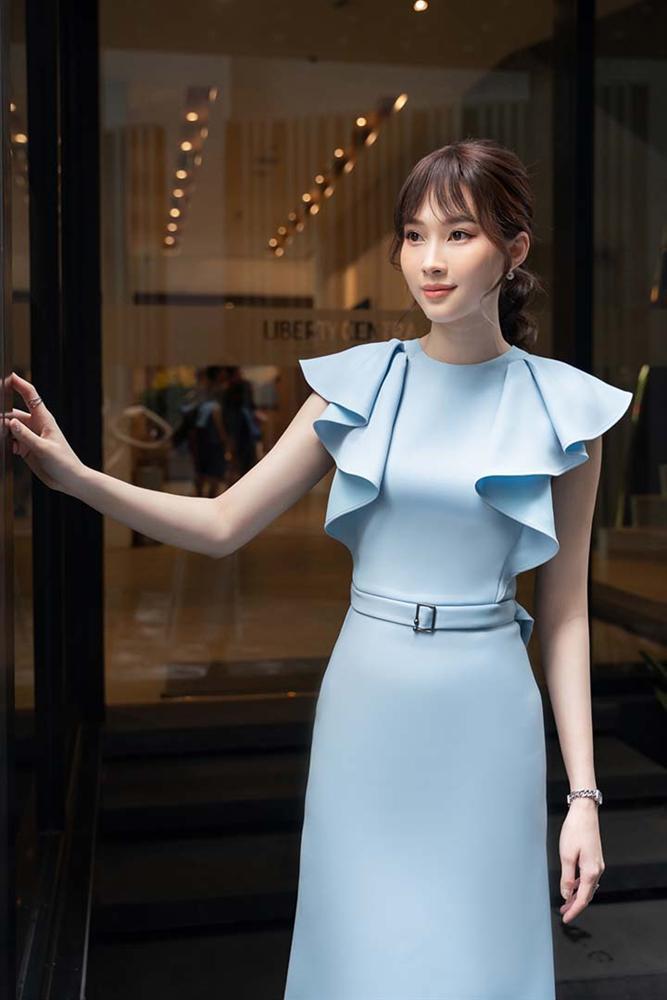 Hoa hậu Đặng Thu Thảo gây ngỡ ngàng với vóc dáng gầy mảnh như sương mai-4