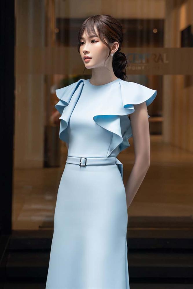 Hoa hậu Đặng Thu Thảo gây ngỡ ngàng với vóc dáng gầy mảnh như sương mai-5