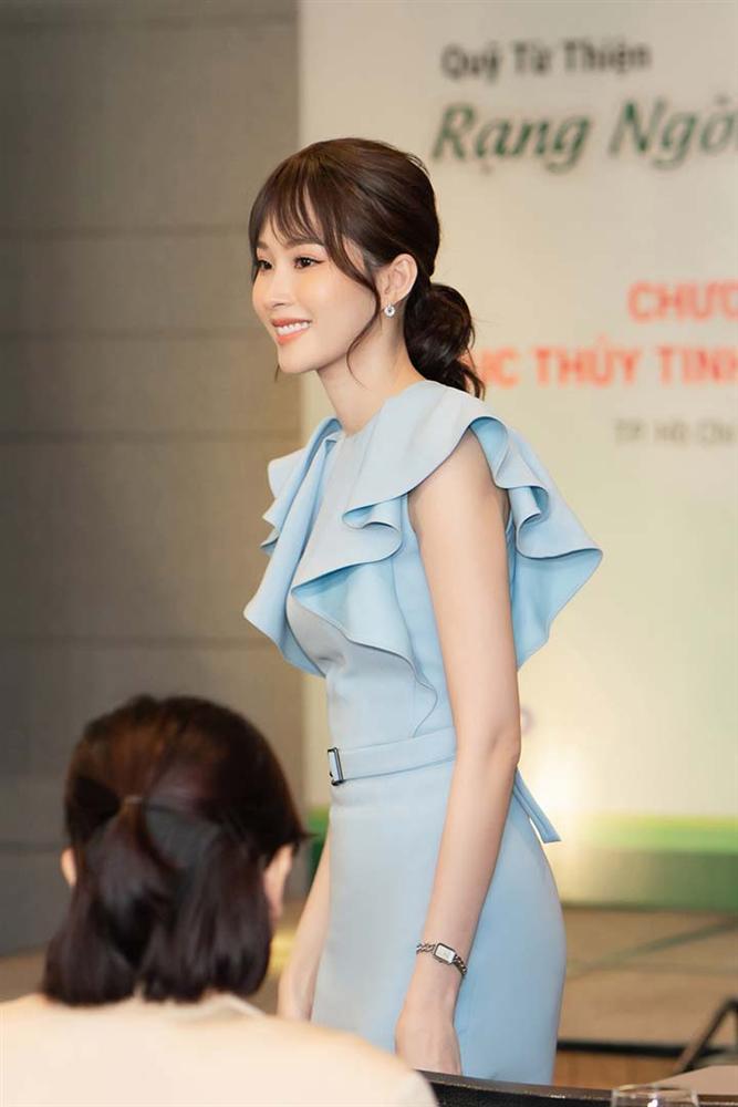 Hoa hậu Đặng Thu Thảo gây ngỡ ngàng với vóc dáng gầy mảnh như sương mai-3