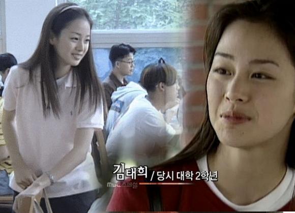 Fan choáng với nhan sắc mặt mộc của Kim Tae Hee thời đại học, bất chấp mọi camera sống ảo-3