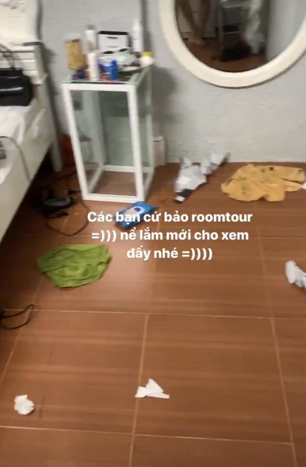 Hết bị soi tổ chức room tour siêu bừa bộn, hotgirl đình đám giới trẻ Việt lại bị tố ở bẩn-4