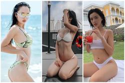 Hết hè, Jun Vũ, Phạm Hương cùng loạt sao nữ vẫn diện áo tắm gợi cảm