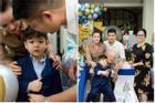 Tạm gạt đấu tố căng như dây đàn, Nhật Kim Anh và chồng cũ sánh đôi rạng rỡ mừng sinh nhật con trai