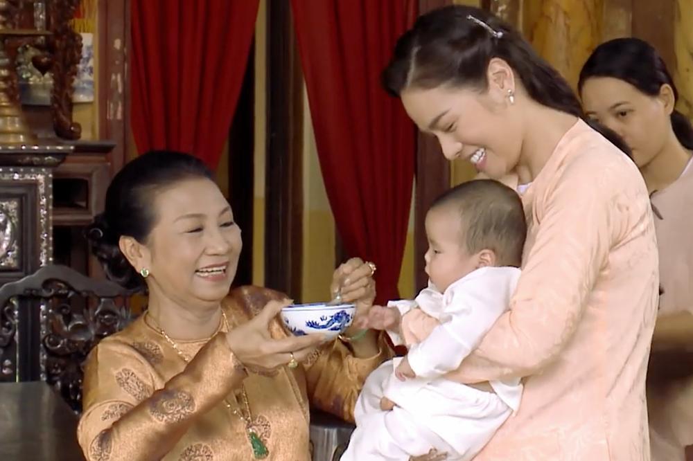 Mẹ chồng Nhật Kim Anh vẫn thương cháu nội dù ghét cay ghét đắng con dâu-4