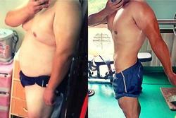Bố giảm hơn 30kg khi bị con gái không cho đưa vào lớp vì quá béo