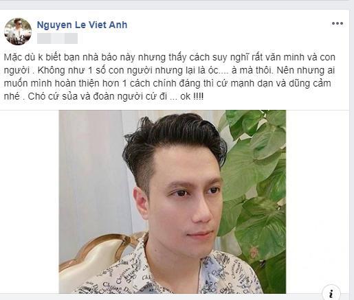 Việt Anh bị khán giả mắng vô học vì dám dùng từ CHÓ khi nói về những người chê mình xấu-3