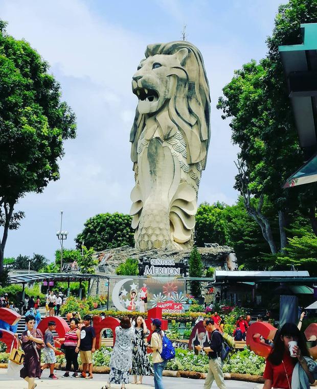 Dân mạng tranh cãi, tiếc nuối khi nghe tin tượng sư tử ở Singapore sắp bị dỡ bỏ-1