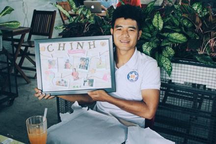 Dàn tuyển thủ quốc gia hội ngộ mừng sinh nhật tuổi 22 của Hà Đức Chinh