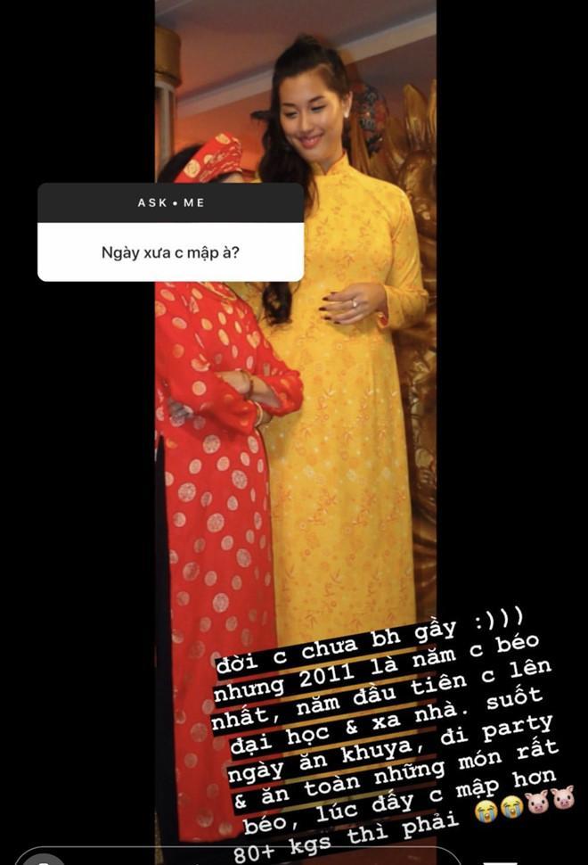 Bạn gái Huỳnh Anh từng nặng hơn 80kg, giảm cân để có 3 vòng sexy-1