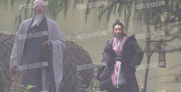 Triệu Lệ Dĩnh lộ nhan sắc già nua trên phim trường Hữu Phỉ-5