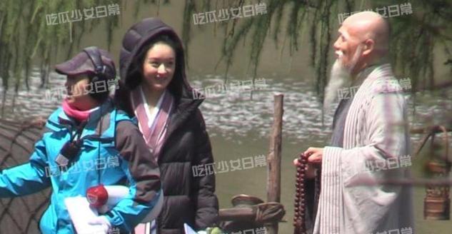 Triệu Lệ Dĩnh lộ nhan sắc già nua trên phim trường Hữu Phỉ-4