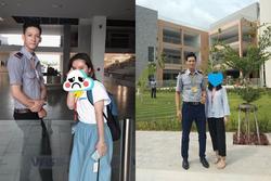Bảo vệ 9X cao 1,84 m được xem là động lực đến trường của sinh viên