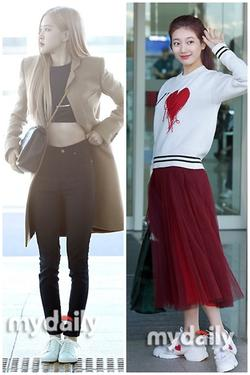 Rosé BlackPink, Suzy, Jessica... đọ thời trang sân bay siêu chất khi lên đường dự Paris Fashion Week