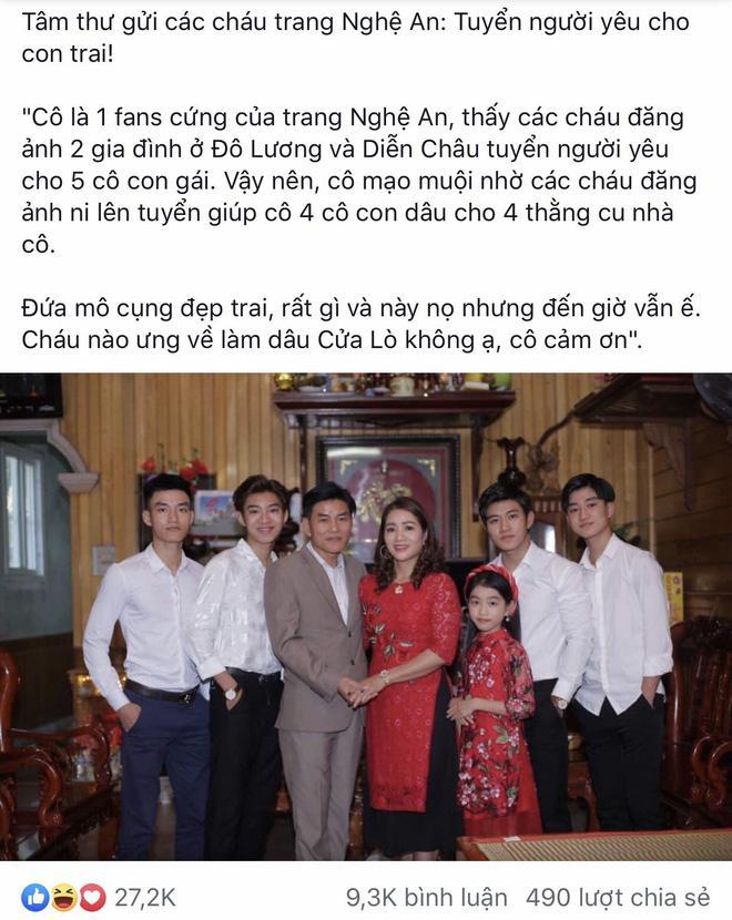Sự thật ít người biết về câu chuyện tuyển vợ cho 4 con trai hotboy ở Nghệ An-1